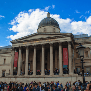 National Gallery, London by Andy Hay is licensed under CC BY 2.0