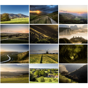 photo prints of the south downs